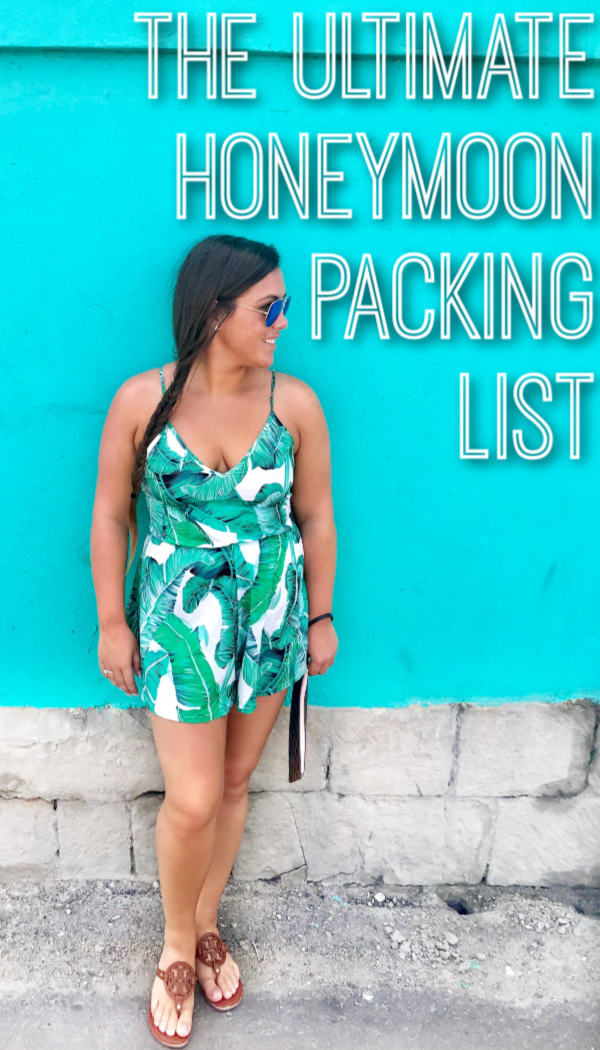 The Perfect Honeymoon Packing List + Tips for Fitting it All